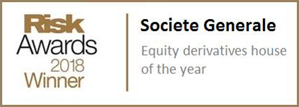 Risk Awards 2018 Winner - Societe Generale
