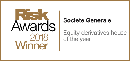 Socgen - Risk Awards Winner 2018 Equity derivatives